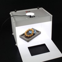 Photo Photography Studio Box 303x246x238mm 2pcs Light Strips Professional LED Photo Light Softbox D30