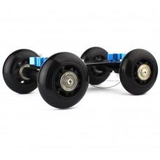 Drift Car 4-Wheel Desktop Rail Car Rolling Track Slider Skater for DSLR 5D2 Video Camera
