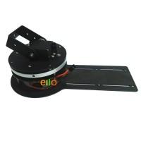 Mechanical Arm Rotating Gimbal Base Robot Arm Claw Base w/2pcs Servo MG996R for Arduino DIY