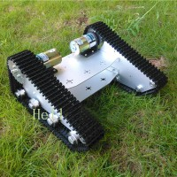 Tank Car Chassis Robot Crawler Creeper Plastic Track Caterpillar for Arduino DIY Unassembled