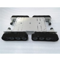 Smart Tank Car chassis Caterpillar Track Crawler Aluminum Alloy for Arduino Robot DIY T500P