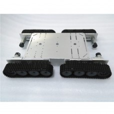 Smart Tank Car chassis Caterpillar Track Crawler Aluminum Alloy for Arduino Robot DIY T500P