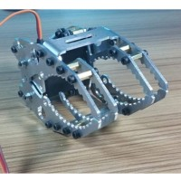 Robotic Clamp Claw Gripper Robot Mechanical Claw w/Servo MG996R for DIY Robot Tank Car CL-6
