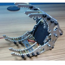 Robotic Clamp Claw Gripper Robot Mechanical Claw w/Servo DS3218 for DIY Robot Tank Car CL-6