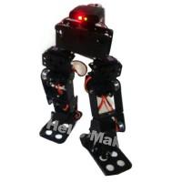 8DOF Humanoid Robot Biped Walking Robotic Frame for Racing Education DIY