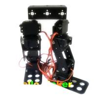 8DOF Humanoid Robot Biped Walking Robotic Frame with Servo for Racing Education DIY