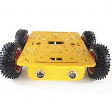 Car Chassis 4WD Track Caterpillar Chassis for Arduino DIY Toy Robot Car RC Tank C300