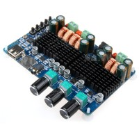 Digital Amplifier Board Bluetooth USB TF Decoding 2.1 Channel 50W+50W+100W AMP