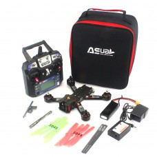 4-Axis Carbon Fiber Quadcopter 220mm with Propeller CC3D Flight Controller + Remote Control RS220 RTF