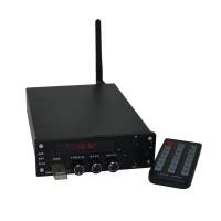 Digital HIFI Power Amplifier Bluetooth 4.0 2x70W Audio AMP Dual Channel + Power Supply ZHILAI T10