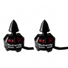 Brushless Motor 1900KV CW CCW Waterproof Multirotor for FPV QAV250 280 Quadcopter BD2206 1-Pair