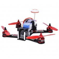 FPV 4-Axis Carbon Fiber Quadcopter Kit 210mm 5.8G 40CH 700TVL CCD FPV Racing Drone+Remote Control Makerfire BIBI BIRD