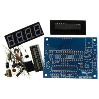 Digital Capacitance Meter Capacitor Tester 1pF-500uF Auto Range Switch DIY Kit 06001