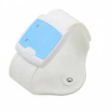 Wearable Electronic Bluetooth Smart Thermometer Baby Monitor for Children Kid-White