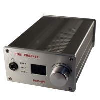 DAC Decoder HIFI Headphone Amplifier USB 192K 24Bit OPA2604 CS3310 CS4398 FIRE PHOENIX DAC-05