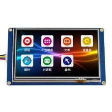 "3.2"" Smart USART UART Serial Touch TFT LCD Module w/GPU 400x240 Display Panel for Arduino"