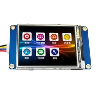 "2.4"" USART UART Serial Touch TFT LCD Module 320x240 Display Panel for Arduino"