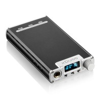 XDuoo XD-05 Audio DAC Headphone Amplifier 32bit 384khz DSD Decoding OLED Display-Silver