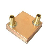 Water Cooling Block Liquid Cooler Copper Waterblock Radiator for GPU CPU
