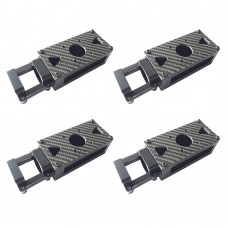 Motor Mount Aluminium Alloy Holder for 30mm Tube Plant Protection Machine Drone 4-Pack