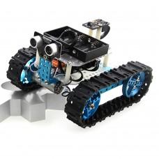 Starter Infrared Robot Car Tank Kit Smart Programmable IR Robotics DIY for Arduino Makeblock
