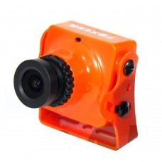 Foxeer Arrow HS1190 FPV Camera 600TVL CCD WDR Built-in OSD& MIC IR Sensitive for Drone Quadcopter-Orange