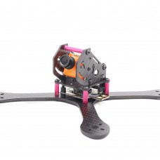 FPV Quadcopter Frame 4-Axis Carbon Fiber Racing Drone 195MM w/Power Distribution Board GEP-QX5 4mm