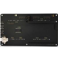 Clock Visualizer Shield TEMT6000 Optical Sensor ADMP421 Microphone Mojo V3 FPGA