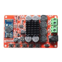 TDA7492P Power Amplifier Board 50W+50W Bluetooth 4.0 Hifi Audio Digital Amp + Acrylic Case