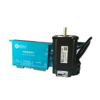 Leadshine CNC Closed Loop HBS507 Hybrid Servo Drive + Servo Motor 573HBM20-1000 Dipulse Adjustable