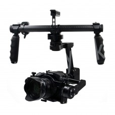 DYS Summer 3-Axis Handheld Gimbal Brushless PTZ for DSLR Camera Panasonic GH4 SONY A7S