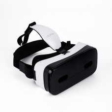 "VR Goggle Virtual Reality 3D Glasses Touch Panel Smart Helmet for 5-6"" Android iOS Phone Dlodlo-White"
