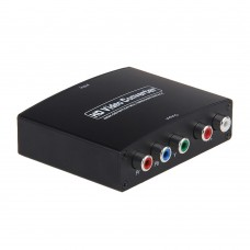 HD Video Converter HDMI to YPbPr Component RGB Adapter 1080P for Audio Video