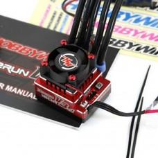 Hobbywing XERUN 120A V3.1 Brushless ESC Electronic Speed Controller for Racing Car Crawler-Red