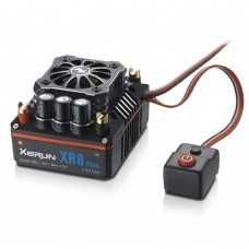 Hobbywing XERUN XR8 PLUS 150A Brushless ESC Electronic Speed Controller for 1/8 Touring Car Crawler