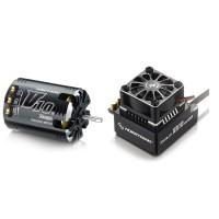Hobbywing Xerun V10 G2 3.5T Sensored Brushless Motor 9550KV + XR10 PRO ESC for 1:10 Car Crawler