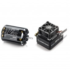 Hobbywing Xerun V10 G2 3.5T Sensored Brushless Motor 9550KV + XR10 PRO ESC for 1:10 Car Crawler