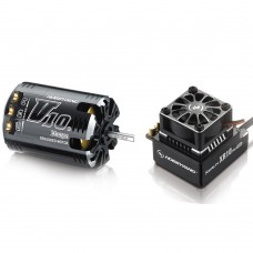 Hobbywing Xerun V10 G2 5.5T Sensored Brushless Motor 5800KV + XR10 PRO ESC for 1:10 Car Crawler