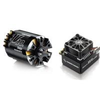 Hobbywing Xerun V10 G2 6.5T Sensored Brushless Motor 5000KV + XR10 PRO ESC for 1:10 Car Crawler