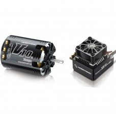 Hobbywing Xerun Bandit G2 10.5T Sensored Brushless Motor 3800KV + XR10 PRO ESC for 1:10 Car Crawler