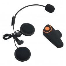 BT-S2 1000m Motorcycle Helmet Bluetooth Headset Interphone Intercom Waterproof FM Radio Music Headphones GPS