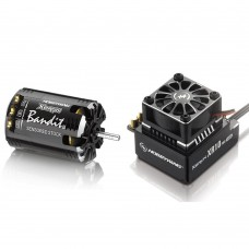 Hobbywing Xerun Bandit G2 17.5T Sensored Brushless Motor 2300KV + XR10 PRO ESC for 1:10 Car Crawler