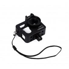 Metal CNC Aluminium Protective Case Shell for GoPro Hero4 HERO3+ Camera-Metal