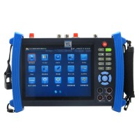 "IPC-8600MS 7"" Touch HD IP Camera Display TDR PTZ Controller POE CCTV Tester Monitor"