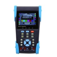 "HVT-2603T 3.5"" HVGA LCD CCTV POE TDR IP Camera DVR PTZ Cable Tester Digital Multimeter"