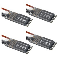 XRotor Micro BLHeli 35A 3-6S ESC Electronic Speed Controller for FPV Quadcopter Drone 4-Pack