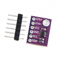 CJMCU-1110 ADS1110 16-Bit Delta-Sigma ADC with Internal Reference PGA Oscillator I2C Serial Interface