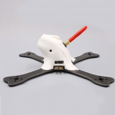 GEP-FX5 flyFish FPV Quadcopter Frame 195mm Carbon Fiber 4 Axis w/ Power Distribution Board 3D TPU