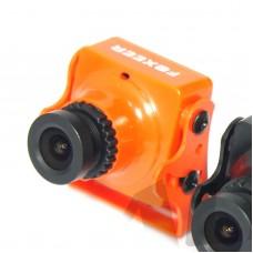 Foxeer Arrow HS1190 FPV Camera 600TVL 2.8MM Lens NTSC Built-in Microphone OSD Orange