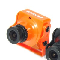 Foxeer Arrow HS1190 FPV Camera 600TVL 2.8MM Lens PAL Built-in Microphone OSD Orange